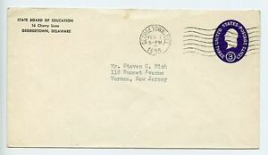 United States advertising postal stationery envelope used 1955 L332 - <span itemprop=availableAtOrFrom>Eastleigh, United Kingdom</span> - United States advertising postal stationery envelope used 1955 L332 - Eastleigh, United Kingdom