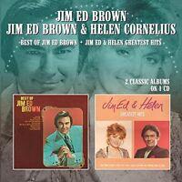 Jim Ed Brown, Helen - Best Of Jim Ed Brown / Jim Ed & Helen Greatest [new Cd] on sale