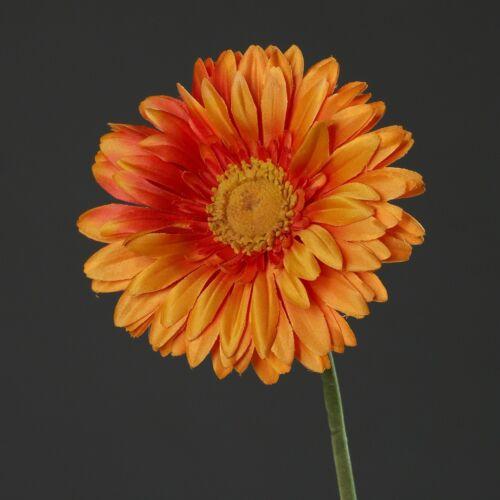 Gerbera Seidenblume Kunstblume orange 70 cm 42751-18 F11