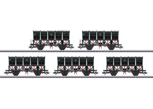 Märklin 46356 pozzetti Kipp Set carro della DB 5 pezzi #neu in OVP #