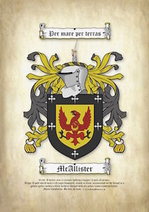 Surname-Coat-of-Arms-Printed-on-Parchment-Family-Crest
