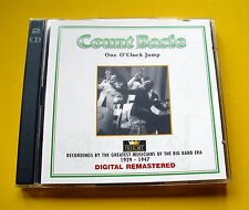 """2 CDs """" COUNT BASIE - ONE O'CLOCK """" 38 SONGS (JUMPIN' AT THE WOODSIDE)"""