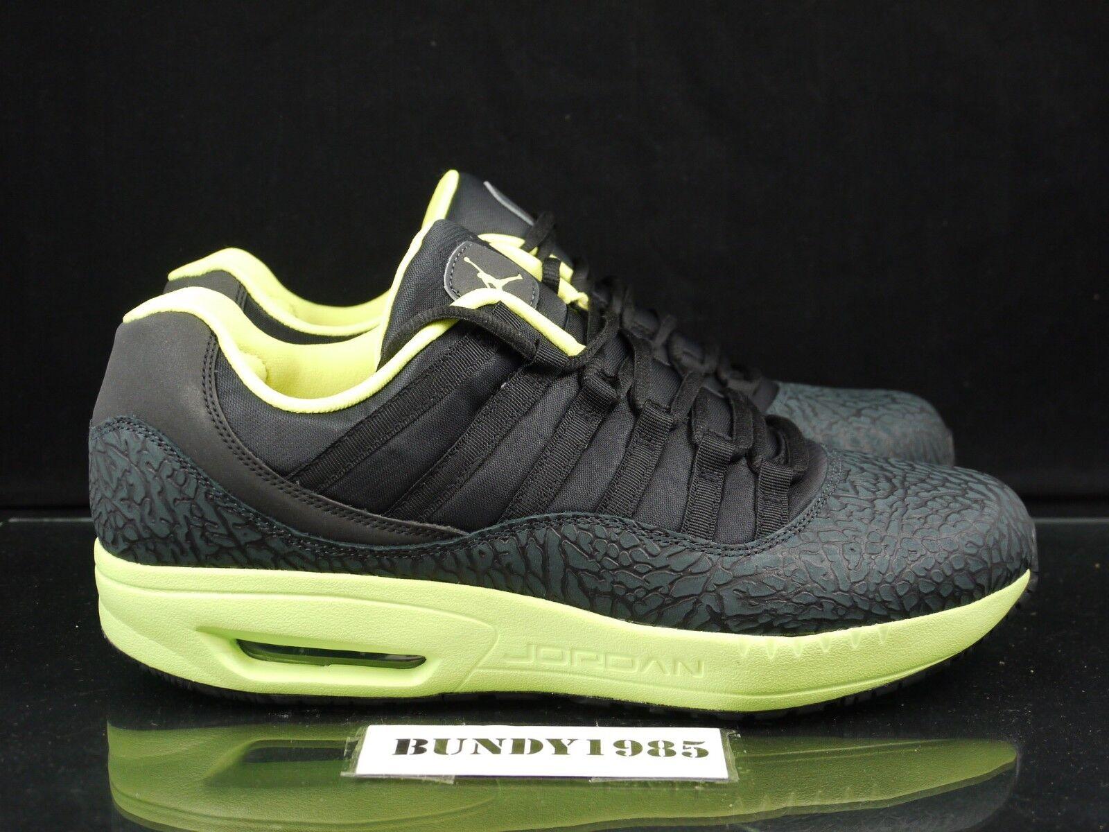 444905 001 Nike Jordan CMFT 13 Viz Air Men's SZ 11.5 Neon   Black sb dunk P