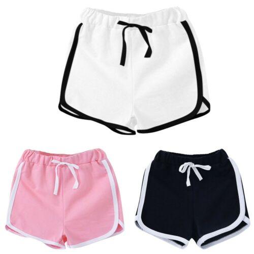Children Kids Baby Girls Boys Sport Shorts Pants Casual Clothes Soft Short Pant