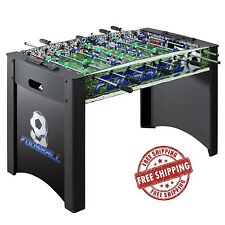 Foosball Soccer Table 4 Feet Game Fussball Ball Board Play Off Cave Arcade Room