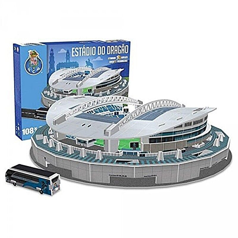 Porto Estadio Do Dragao 3D Jigsaw Puzzle 375mm x 375mm x 91mm (kog)