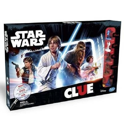 Hasbro Cluedo Star Wars Edition Board Game