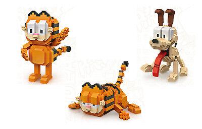 Garfield Odie LOZ BLOCK Mini Building Nanoblock iBlock Free Shipping AUS Seller
