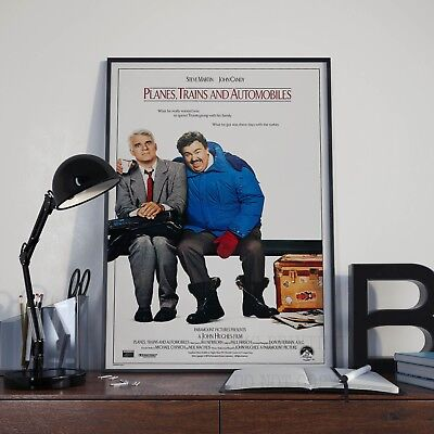 Planes Print Trains and Automobiles Movie Film Poster Picture A3 A4 Size
