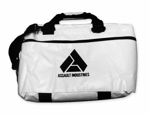 ASSAULT INDUSTRIES RUGGED OFFROAD COOLER STORAGE BAG WHITE XP1000 RZR MAVERICK