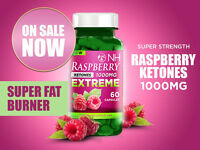 RASPBERRY KETONES BOTTLE 1000MG WEIGHT LOSS - DETOX SLIMMING DIET PILLS