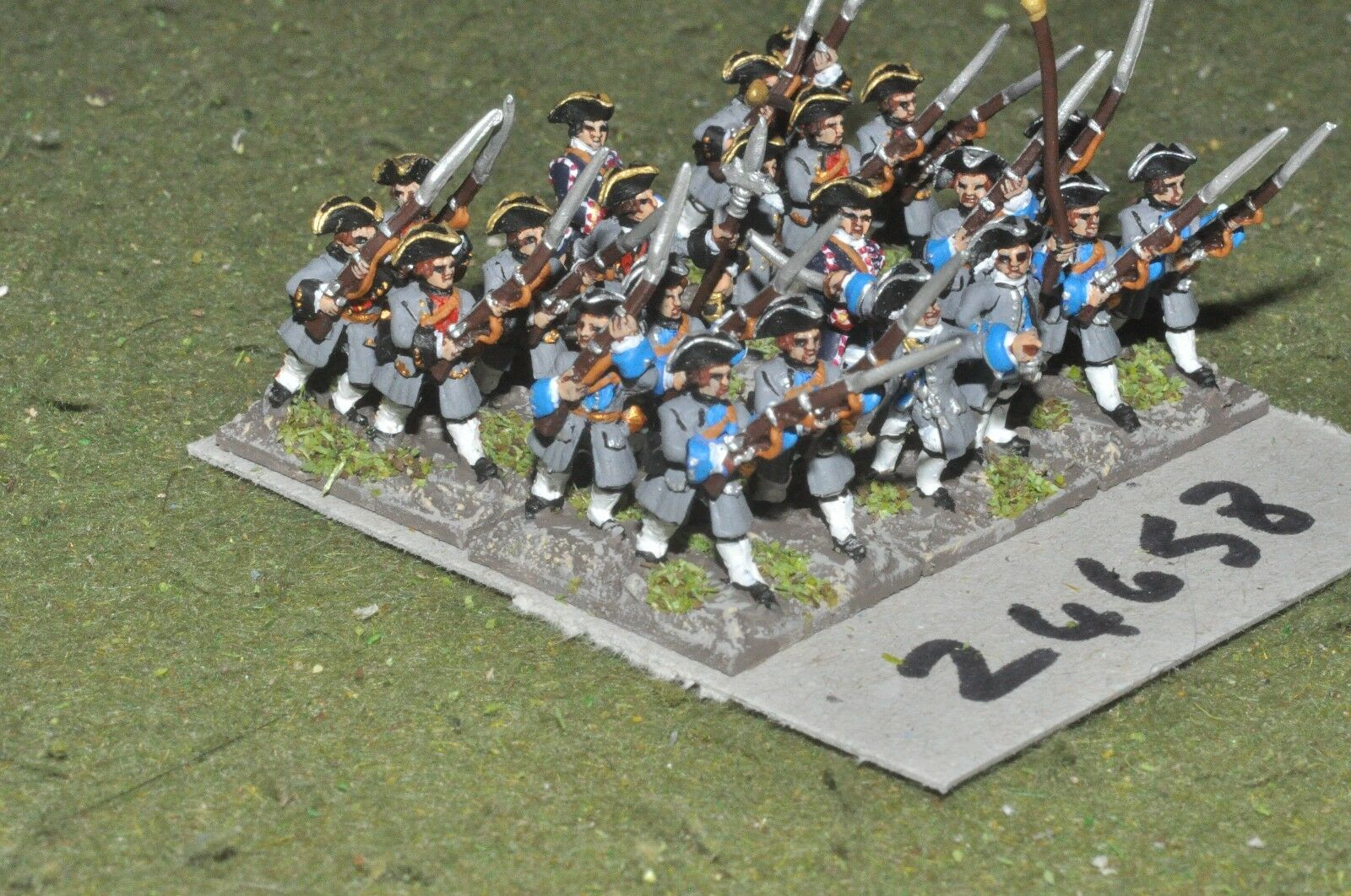 15mm 7YW   french - line 22 figures - inf (24658)