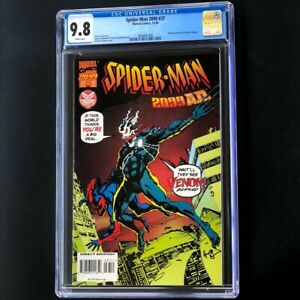 Spider-Man-2099-37-1995-CGC-9-8-Venom-Amazing-Fantasy-15-Homage-Comic