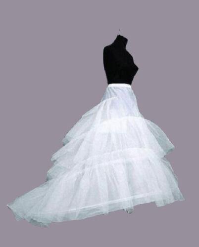 UK WEDDING BRIDAL DRESS PROM PETTICOAT HOOPS UNDERSKIRT CRINOLINE LARGE WAIST