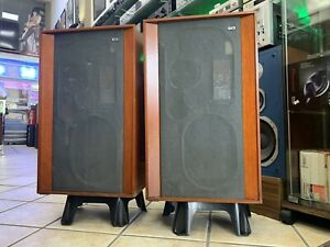 KEF-CONCERTO-SP1004-Original-3-Way-Speakers-Vintage-1969-Legendary-Good-Look