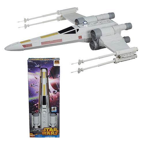 Star Wars Rebels 31-inch X-Wing Fighter Hero Series Episode IV A New Hope Hasbro