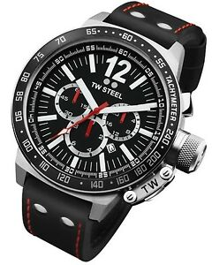 TW-Steel-Watch-CE1016R-CEO-Canteen-Black-Leather-50MM-Chronograph-COD-PayPal