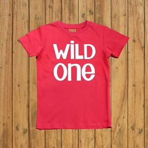 Image Is Loading Boys First Birthday Shirt Wild One
