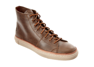 FRYE Men's Gates Brown High Leather Sneaker Sz 11.5 6781