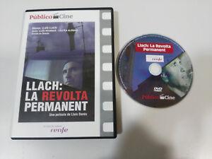 LLACH-LA-REVOLTA-PERMANENT-LLUIS-DANES-DVD-SLIM-ESPANOL-CATALAN-amp