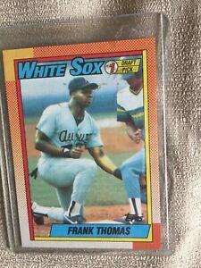 1990-Topps-Frank-Thomas-ROOKIE-RC-414-White-Sox