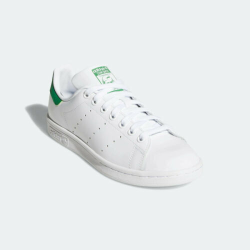 Classic Adidas Originals Stan Smith-Nuage blanc & vert (UK 6) NEUF