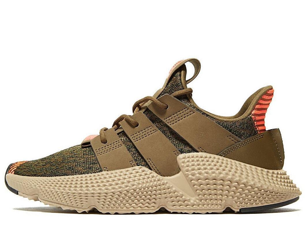 Adidas Originals Prophere ® ( GS Größes UK   4  &  5.5 ) Olive   Khaki NEW Latest