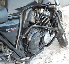 Honda CB 400 SF-S , R Engine Radiator Guard Crash Bars Black Mmoto MM6