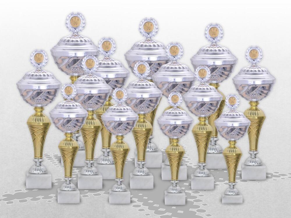 14er Pokalserie Pokale StarLight mit Gravur günstige preiswerte Pokale kaufen