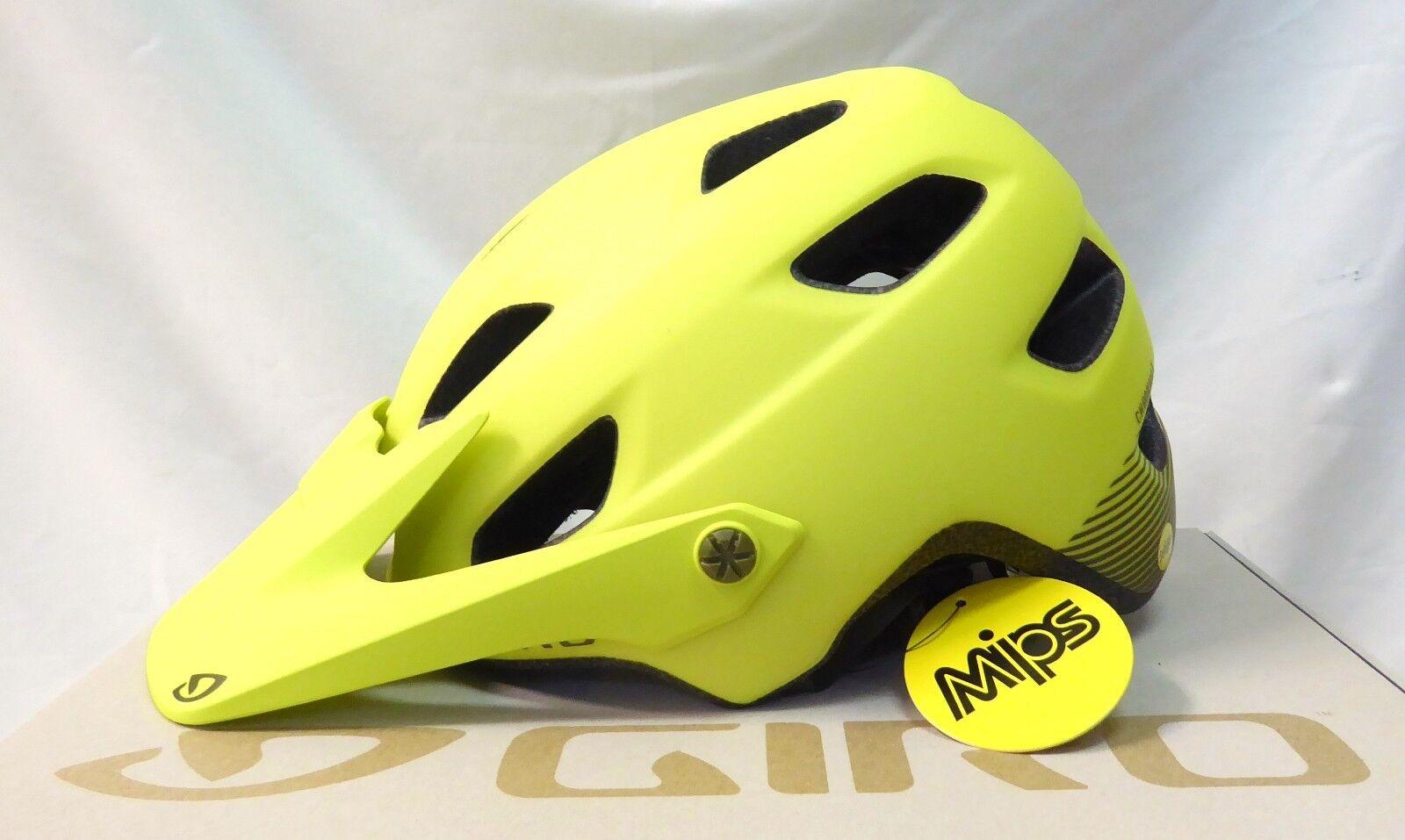 Giro Chronicle MIPS MTB Cycling Helmet  Matte Citron Heatwave Medium  quality guaranteed