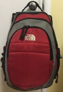 67f9c501b Details about The North Face Terra 30 Backpack Red Grey & Black Outdoor  Hiking Camping Gear