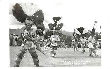 c1940s Real Photo PC; Danza De La Pluma, Oaxaca Oax, Mexico 12. Feather Dance