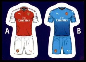 new product fde24 70f5c Details about Merlin's Premier League 2018 - Kit Arsenal No. 19