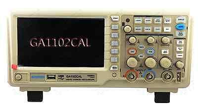 """GRATTEN GA1202CALDigital Oscilloscope  200MHz 2CH 7"""" LCD 1G Sa/s Depth 40K USB"""
