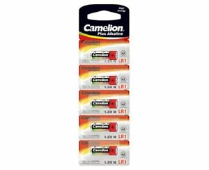 5-x-Camelion-Lady-N-Alkaline-Blister-E90-Batterie-Camlion-Plus-LR01