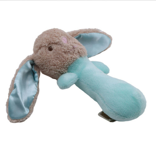 Newborn Rattle Plush Baby Toy for Kids Ring Early Educational Doll LH