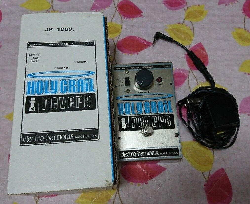 Rare ELECTRO HARMONIX HOLY GRAIL REVERB Effects pedal JAPAN F/S