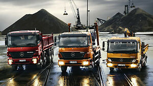 mercedes benz atego axor 7 2l om926 6 4l om906 engine workshop rh ebay com au Service Manuals Service Manuals