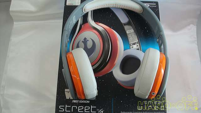SMS STREET BY 50 50 50 Headphone Star Wars Rebel Alliance Army Logo Specification ff9547