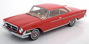 1-18-Bos-CHRYSLER-300h-2-Door-Hard-Top-1962-Red