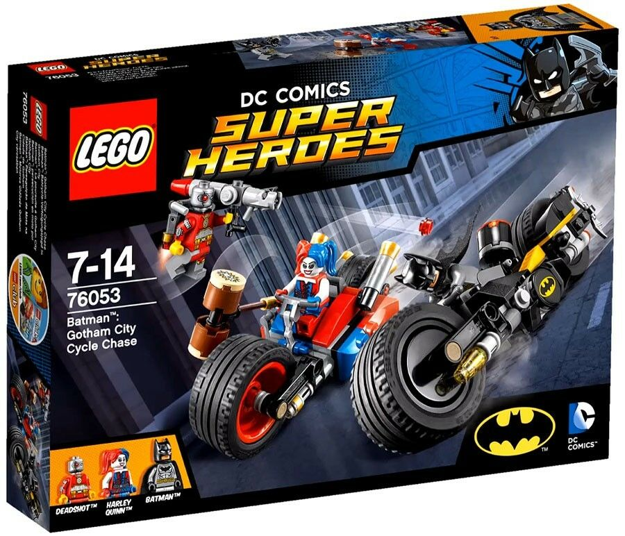 LEGO DC Super Heroes Gotham City Cycle Chase Set  76053