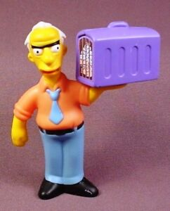 THE SIMPSONS COMIC BOOK GUY BURGER KING KIDS MEAL 2007 TOY FIGURINE NEW