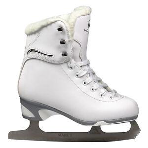 Jackson Misses Softskate Girls Figure Skates With Mark I Blade - White (new) Remises Vente