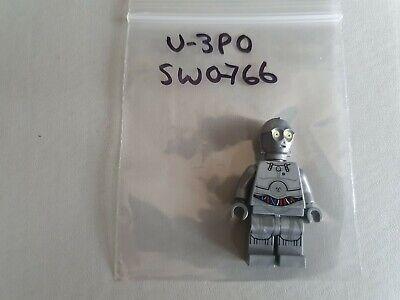 Lego Star Wars Silver Protocol Droid U-3PO Minifig SW0766 SW766 75146