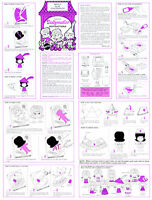Dollymaker Instruction Sheet For A Mattel Thingmaker (creepy Crawlers)