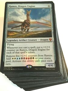 ***Custom Commander Deck*** Ramos Dragon Engine - EDH Magic Cards