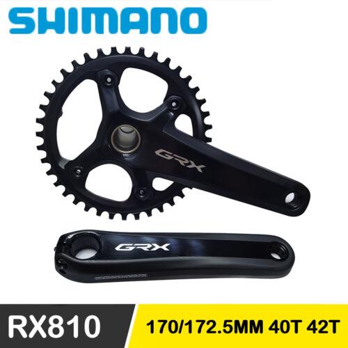 SHIMANO GRX FC RX810 Gravel Crankset 1x11Speed 40T 42T 170MM 172.5MM Bike Cycle
