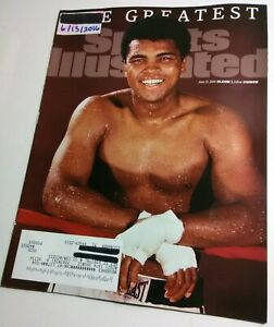 Sports-Illustrated-6-13-16-Muhammad-Ali-Memorial-Issue-magazine-boxing-champ-NM