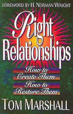 Right relationships: a biblical foundation for making and mending relationships