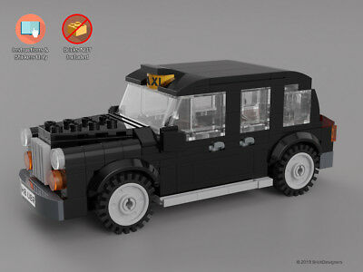 Instructions /& Stickers to build a custom Lego Capitol Police Sedan NO BRICKS